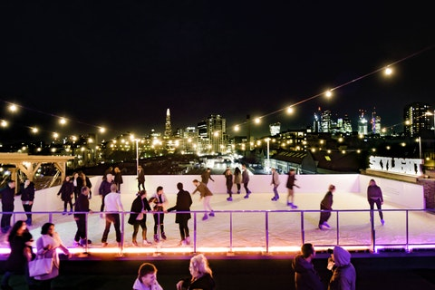 Rooftop ice rink? This is where to book your Christmas office do