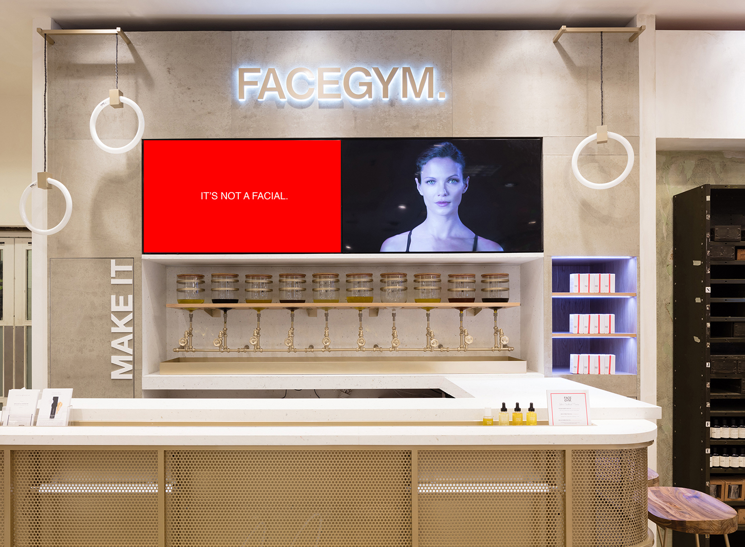Where to go to get pampered before your Christmas party Facegym skin complexion facelift beauty treatment