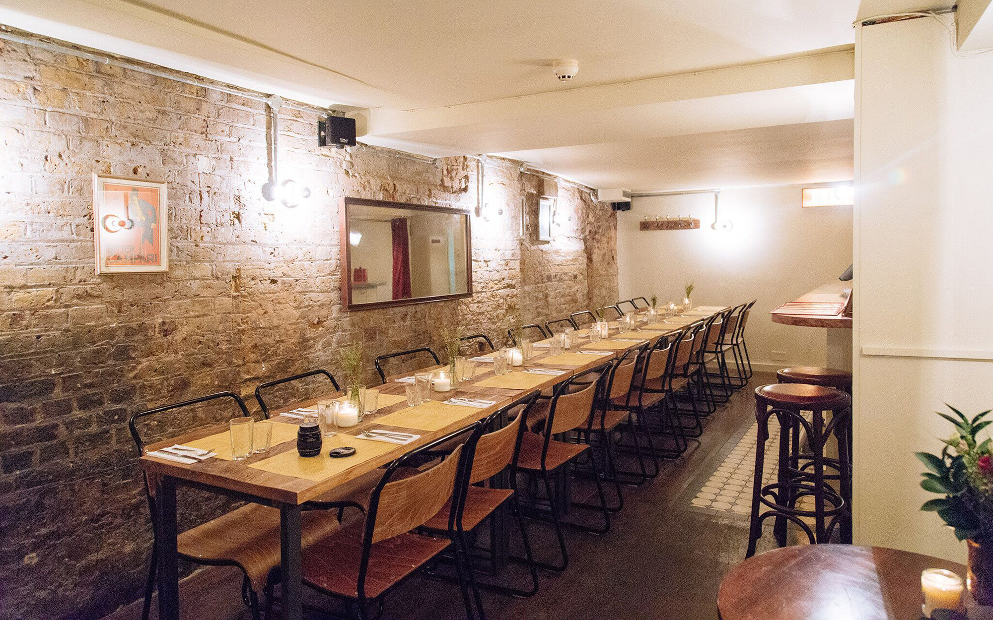 Polpo Soho london restaurants venues events private dining room hire