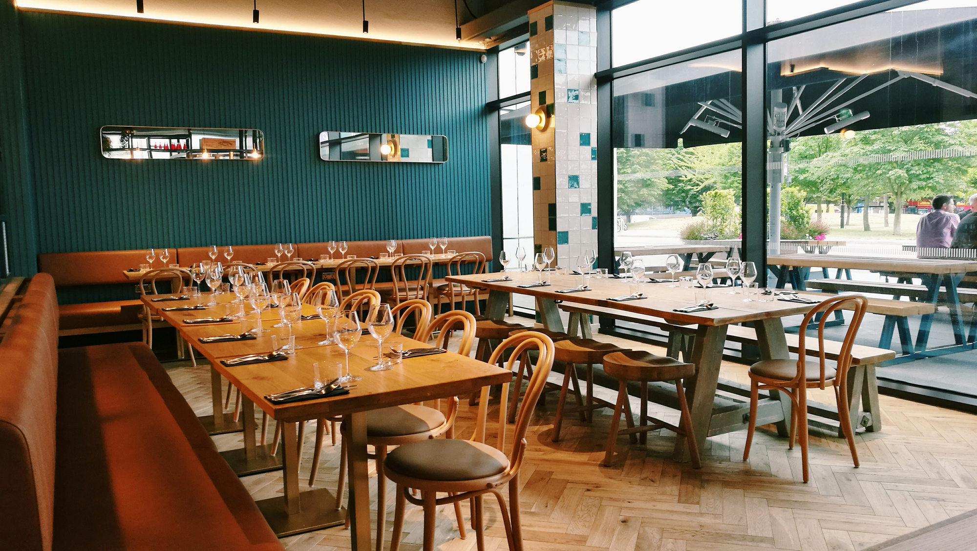 Wellbourne Brasserie london restaurants private hire events light bright modern venues