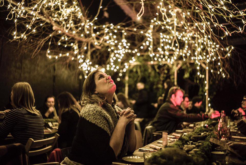 Supper clubs Literary Hour dining london