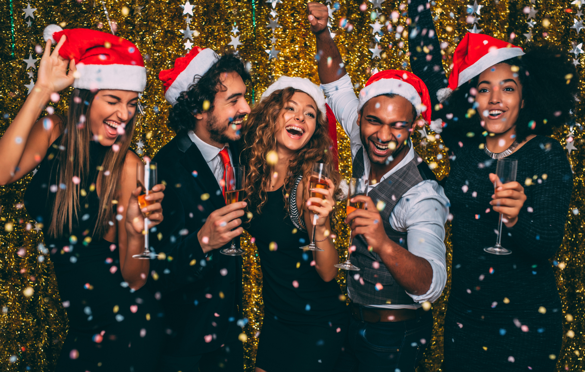 SquareMeal Christmas magazine how to satisfy all ages at your end of year party millennials