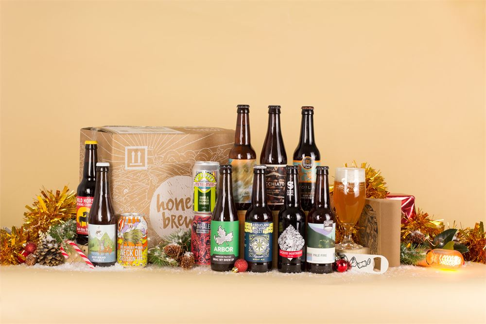 Get 20% off craft beer Christmas cases from HonestBrew
