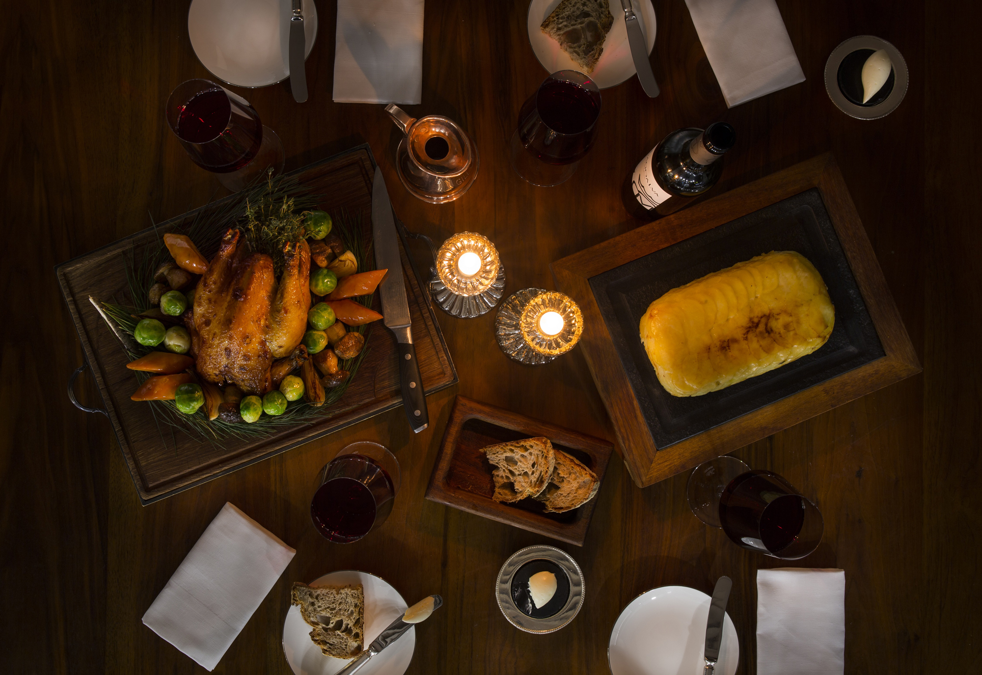 Petrus launches Christmas private dining menu michelin starred restaurants in london foodie festive feast