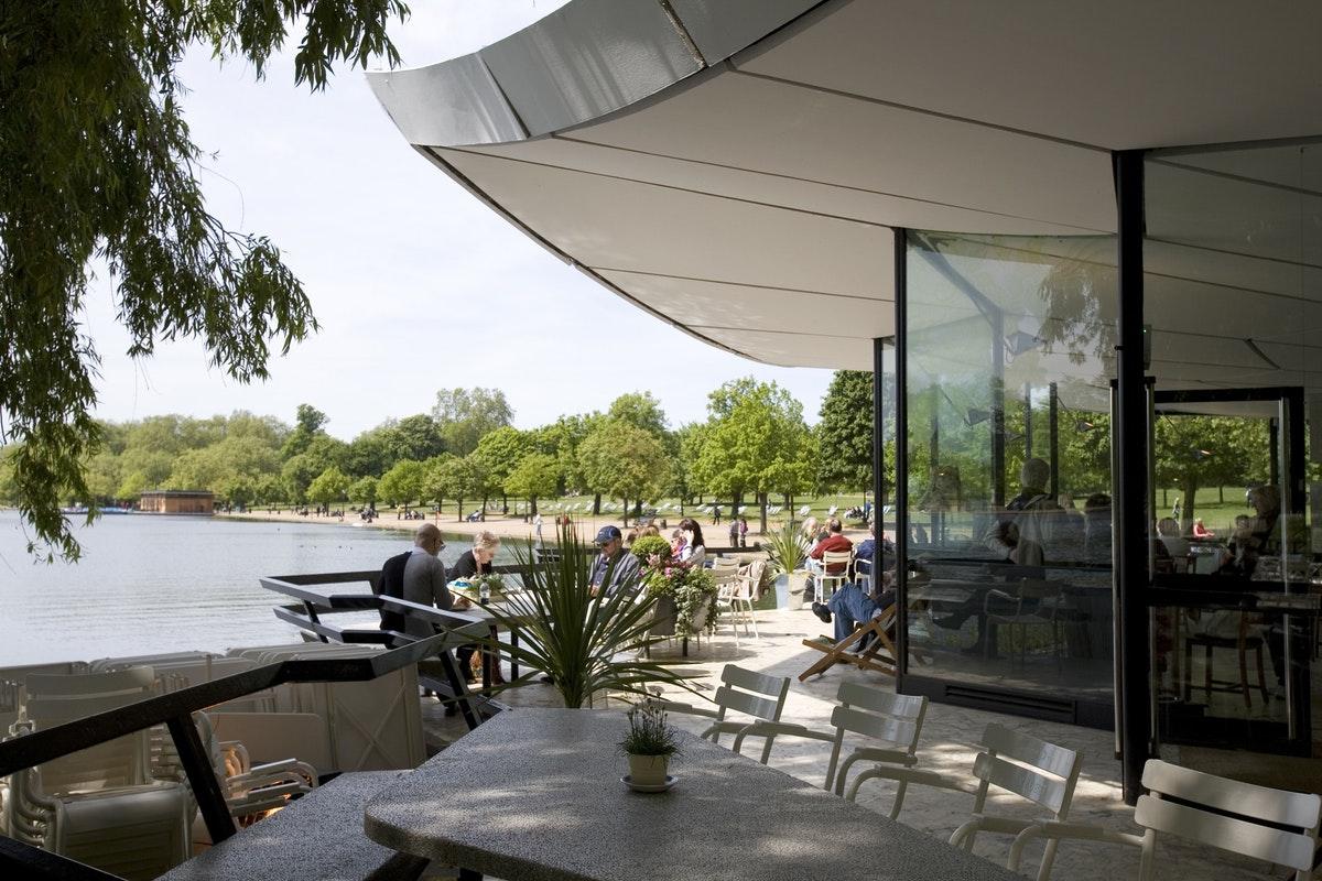London's best alfresco restaurants and cafés