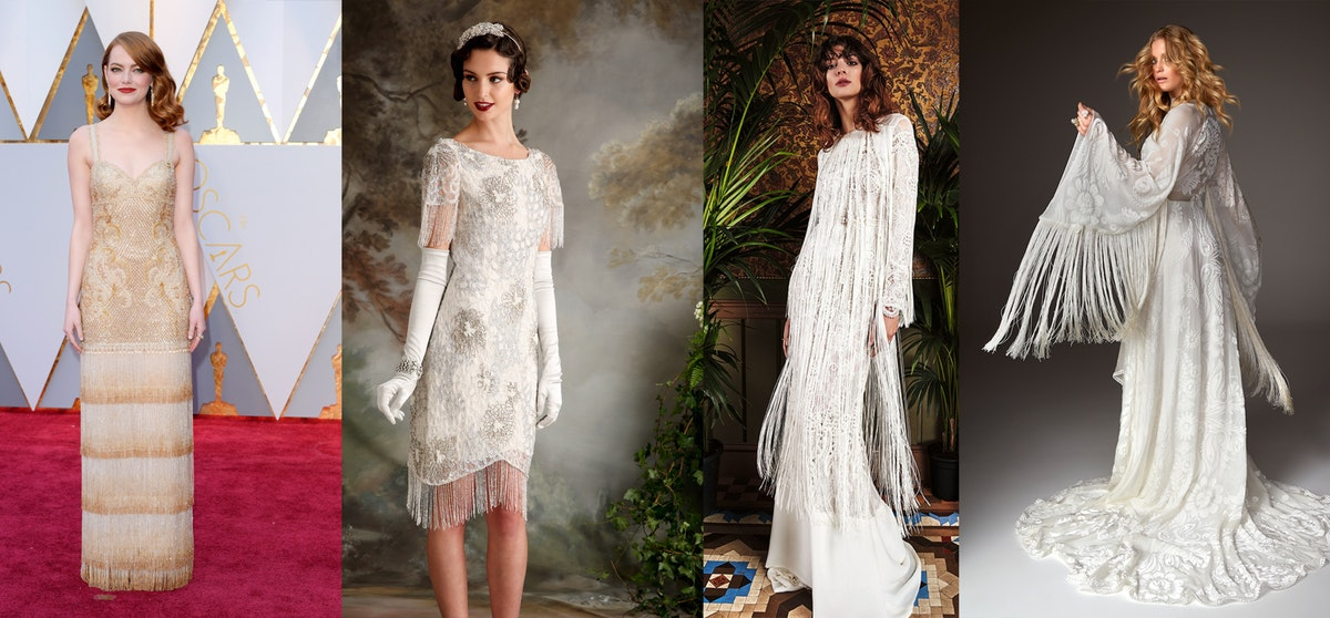 Red carpet inspiration for brides