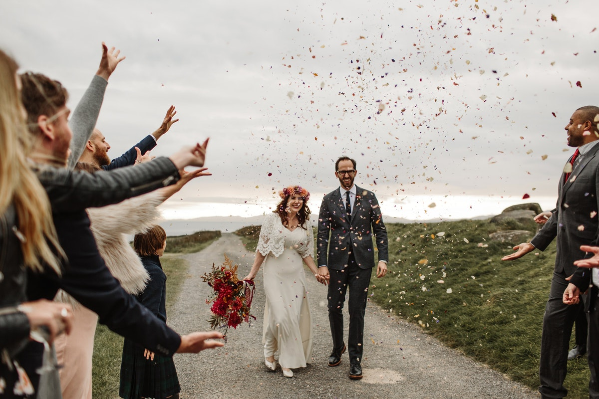 Your weddings: Highland fling