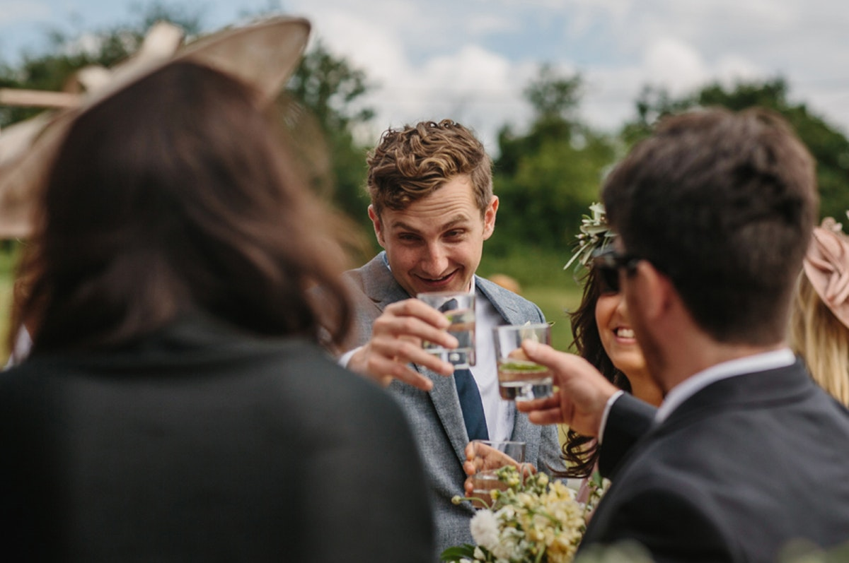 Food and drink inspiration for wedding receptions