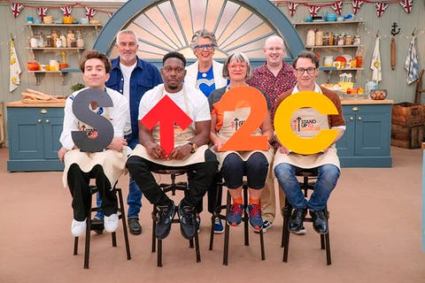 The Great British Celebrity Bake Off for SU2C