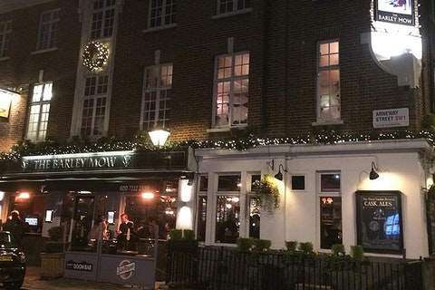 Christmas at The Barley Mow Horseferry Road