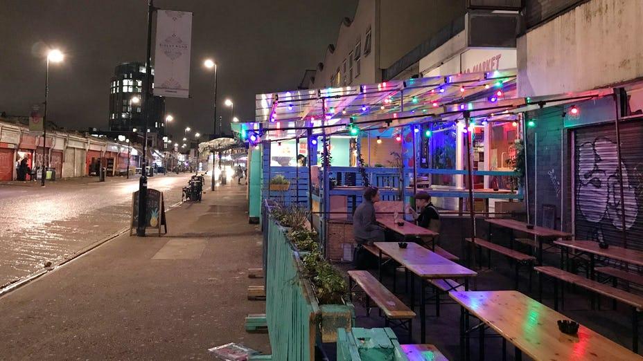 Christmas at Ridley Road Market Bar
