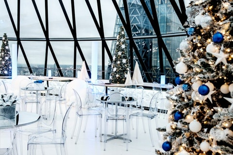 Christmas at Searcys at The Gherkin