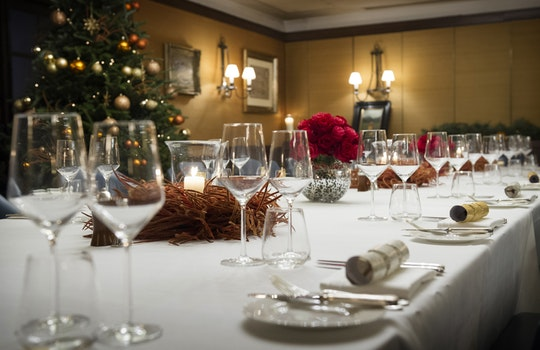 Christmas parties in Mayfair