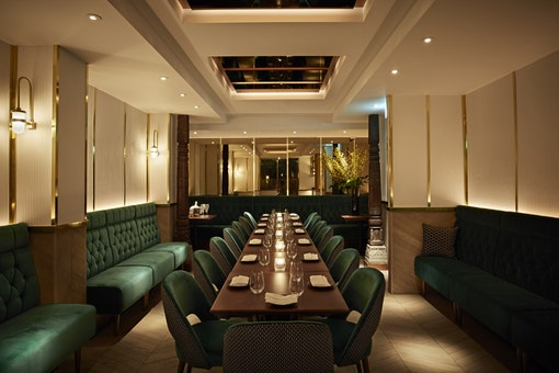 Christmas at Indian Accent London