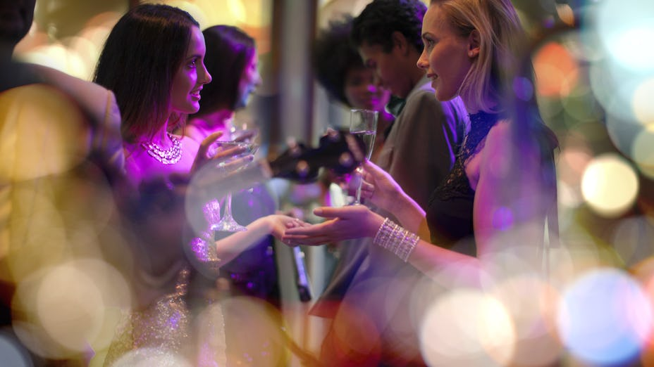 Shared Christmas Parties at Ascot Racecourse