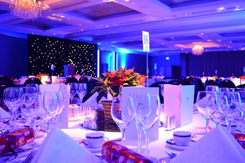 Christmas Parties in the Palace Suite at The Royal Garden Hotel