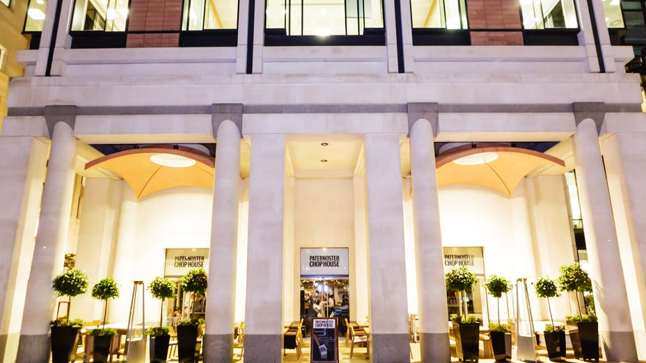 Christmas at Paternoster Chop House