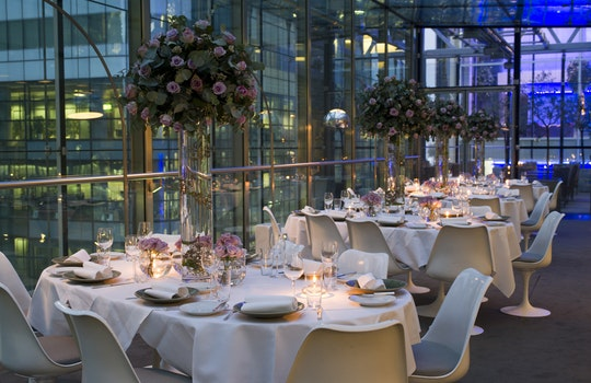 Christmas parties in Canary Wharf