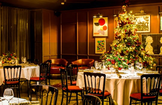 Exclusive hire Christmas party venues