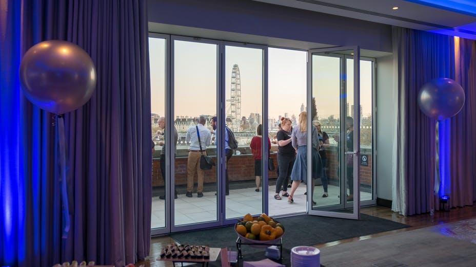Roof Terrace & Riverside Room @ IET London: Savoy Place