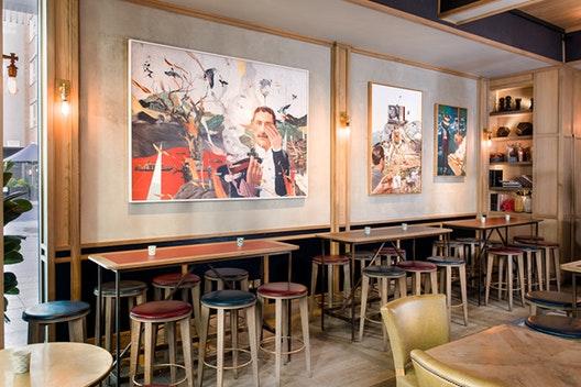 The Bar Tables
