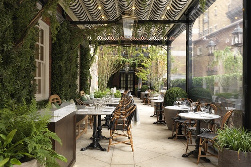 Dalloway Terrace at The Bloomsbury