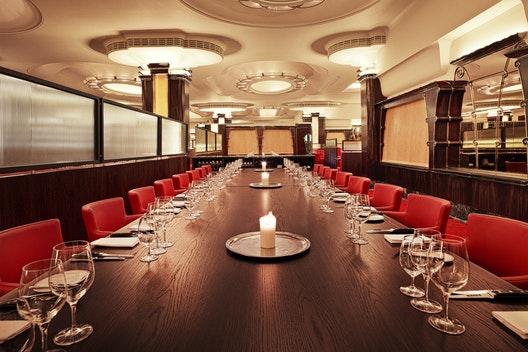 Semi-private dining room