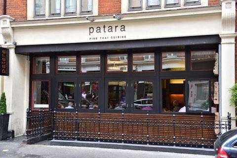 Patara Fine Thai Restaurant Oxford Circus