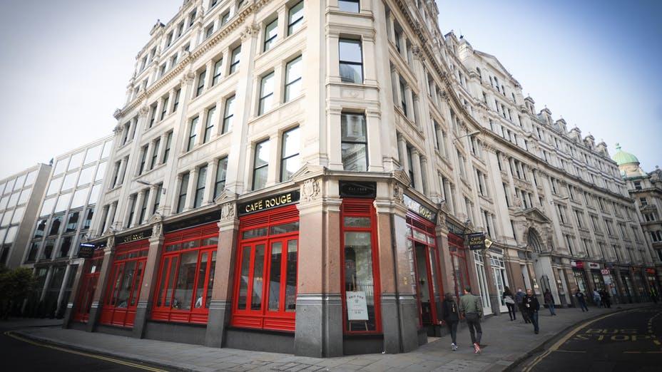 Café Rouge St Paul's