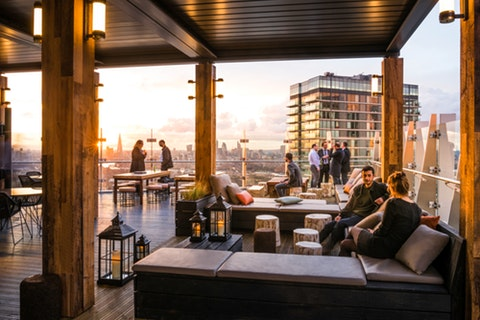 London venues with a view of the city