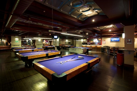Pool Hall Lounge at Namco Funscape