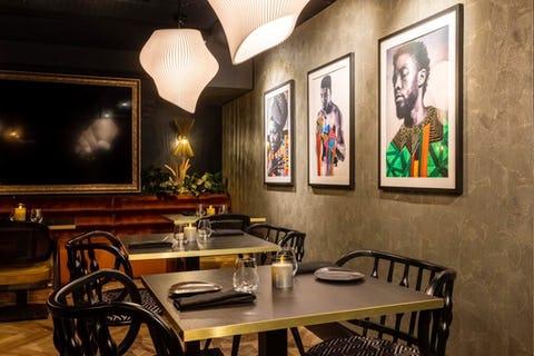 Stork Restaurant, Mayfair