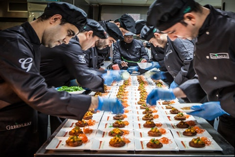 Catering at Ascot Racecourse