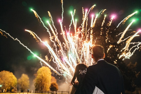 Weddings by Flashpoint Fireworks