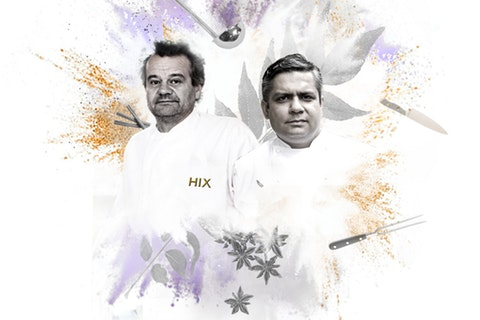 Tales from the Kitchen Library - Vivek Singh & Mark Hix