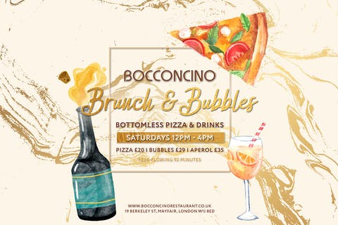 Bottomless Brunch and Bubbles