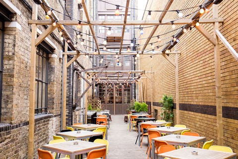 The best London venues with outside space