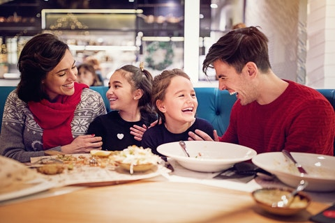 Child-friendly restaurants in London