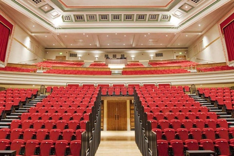 Auditoria & venues with tiered seating