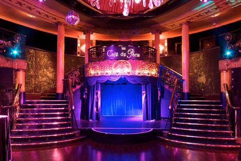 Best restaurants for cabaret in London