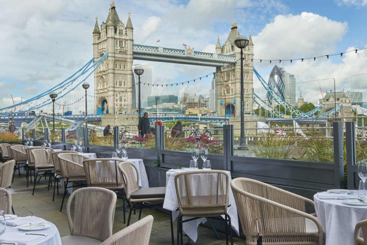 Best outside and alfresco restaurants in london