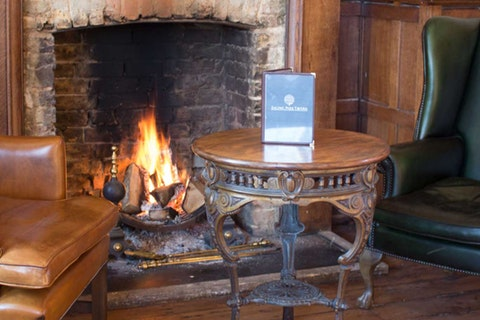 Best pubs with fires in London
