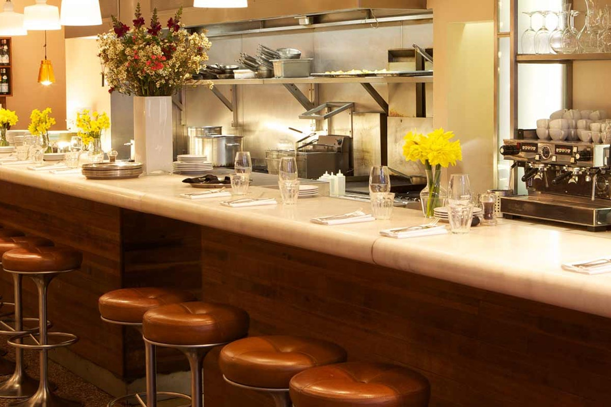 Best restaurants for counter dining in London