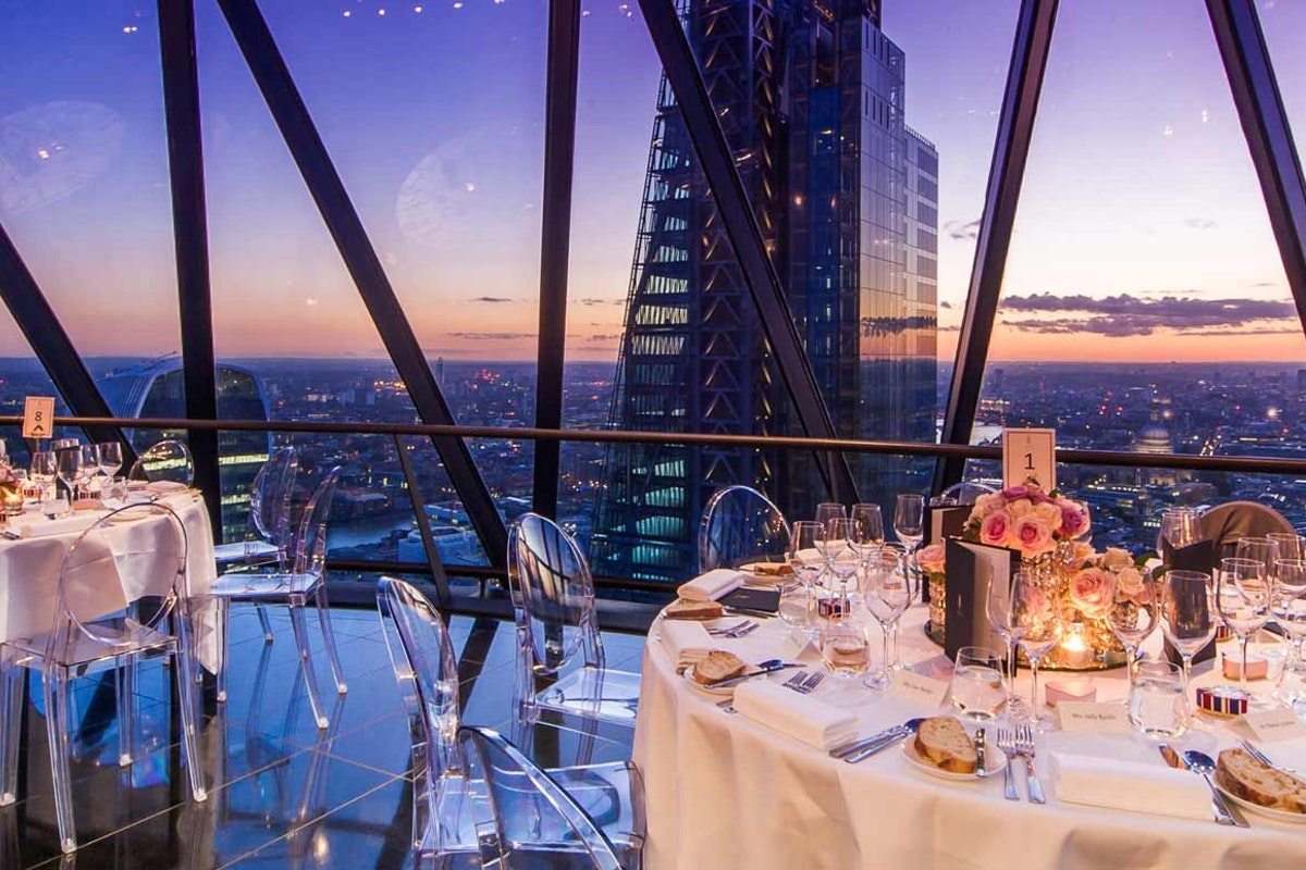 London penthouse venues