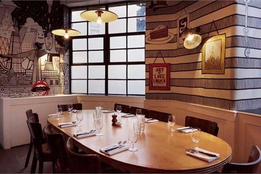 CNB private Dining Room