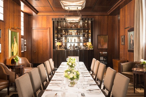 The Colony Grill Room at The Beaumont