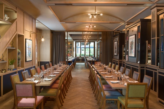 The Dining Room & The Reading Room
