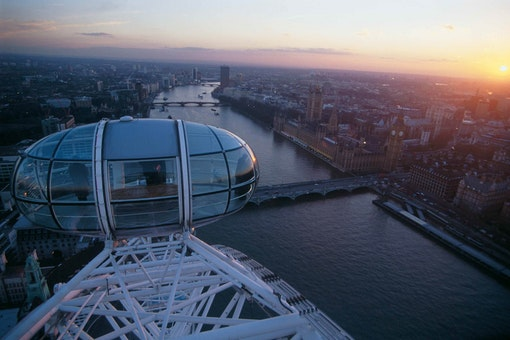 The London Eye - Dining at 135