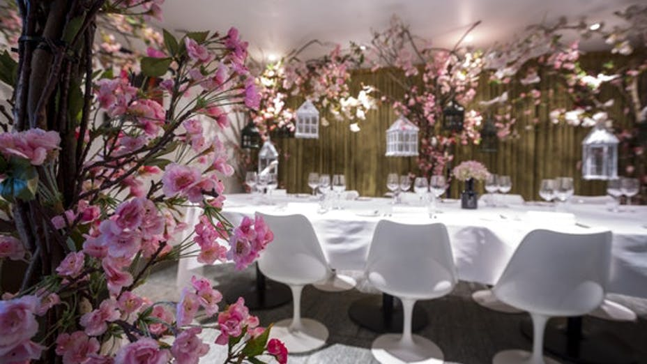 Private Dining at Plateau