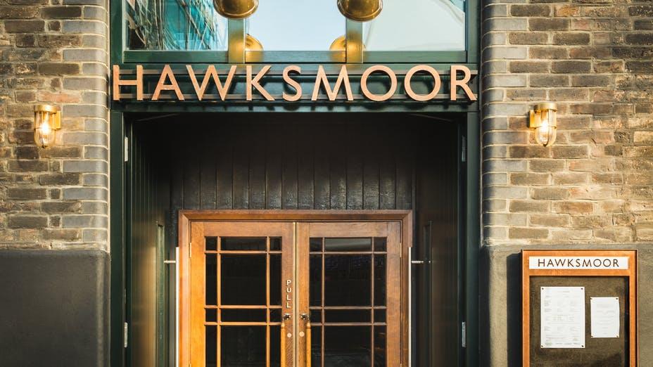 Hawksmoor Borough Cooks Room